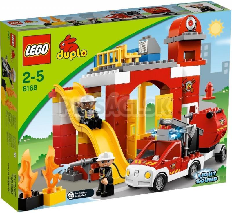 Lego Duplo Legoville Hasičsk 225 Stanica Predaj