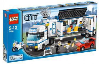 LEGO City - Mobilná policajná stanica