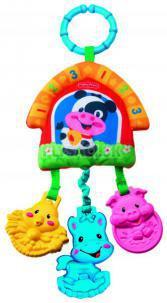 Fisher Price - Závesná hračka, zvieratká z farmy