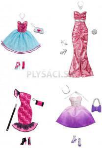 Barbie Fashionistas - Plesové šaty