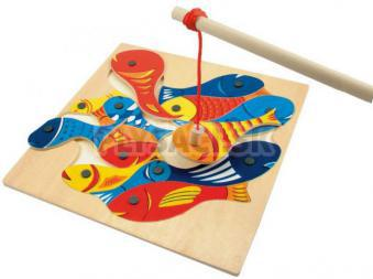 Woody - Rybičky s udičkou, magnetická hra