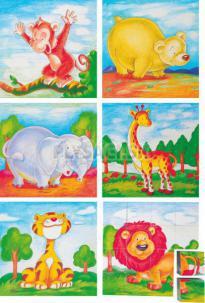 """Woody - Kocky 4x4 """"Kráľ zvierat"""""""