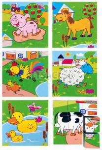 "Woody - Kocky 3x3 ""Zvieratká"""