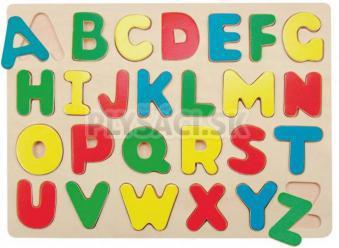 """Woody - Puzzle na doštičke """"Abeceda"""""""