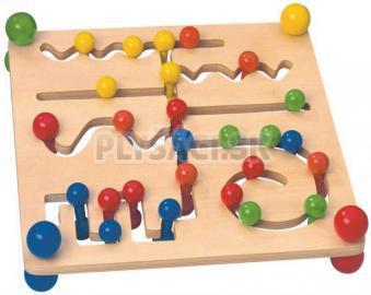 Woody - Motorický labyrint s guľôčkami