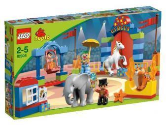 LEGO Duplo Legoville - Môj prvý cirkus