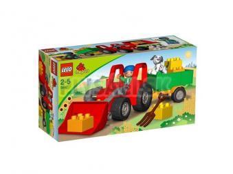 LEGO Duplo Legoville - Veľký traktor