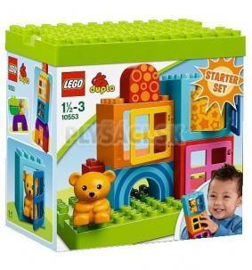 LEGO Duplo Kocky - Moje prvé stavanie pre batoľatá
