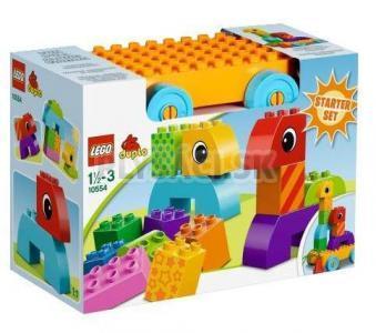 LEGO Duplo Kocky - Ťahacie hračky pre batoľatá