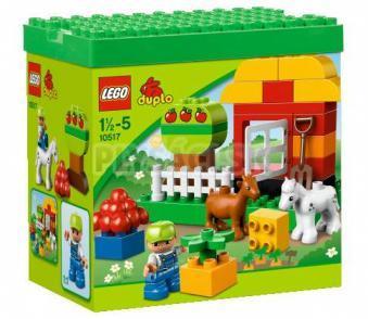LEGO Duplo Kocky - Moja prvá záhrada