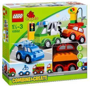 LEGO Duplo Kocky - Tvorivé autíčka