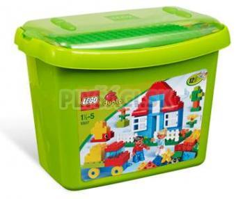 LEGO Duplo Kocky - Box s kockami - deluxe