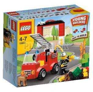 LEGO kocky - Moja prvá Hasičská stanica
