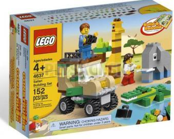 LEGO kocky - Stavebná súprava Safari