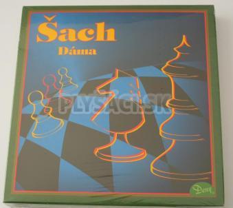 Spoločenská hra - Šach, dáma