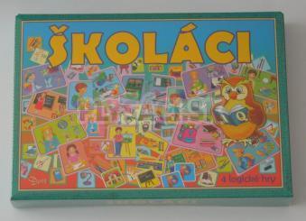 Spoločenská hra - Školáci