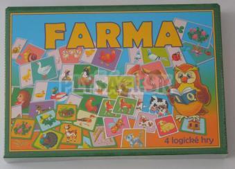 Spoločenská hra - Farma