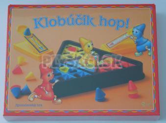Spoločenská hra - Klobúčik hop