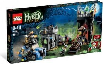 LEGO Monster Fighters - Šialený profesor a jeho netvor