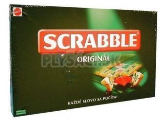Spoločenská hra - Scrabble Originál slovenská verzia