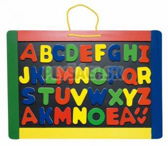 Woody - Magnetická tabuľa s písmenami