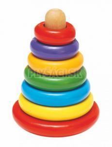 Woody - Magnetická skladacia pyramída - Káča