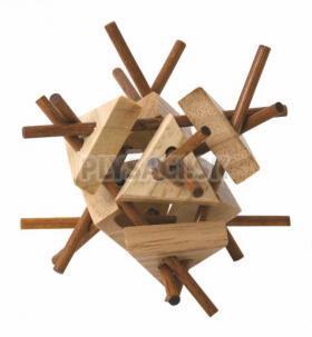 Woody - Hlavolam Tyčky s trojuholníkmi