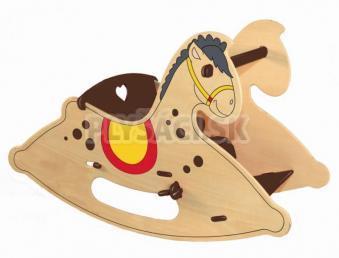 "Woody - Hojdací kôň ""Kresielko"""