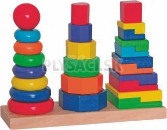 Woody - Set skladacích veží