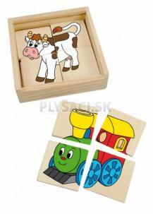 "Woody - Minipuzzle ""Mašinka"""