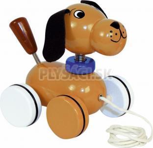 Woody - Ťahací psík na kolieskach