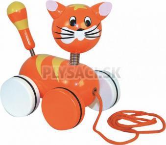 Woody - Ťahacia mačička na kolieskach