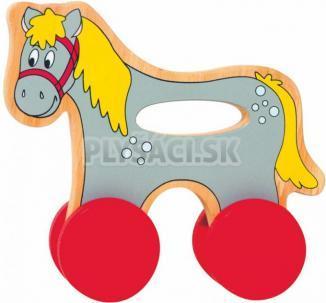 Woody - Koník na kolieskach s držadlom