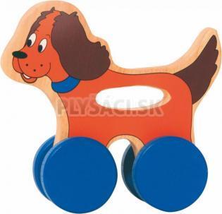 Woody - Psík na kolieskach s držadlom