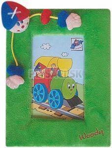 "Woody - Plyšový rámček ""Mašinka"""