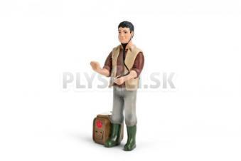 Schleich - Veterinár s kufríkom