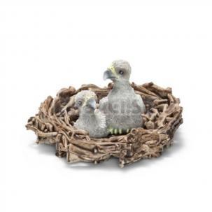 Schleich - Orlie mláďatá v hniezde