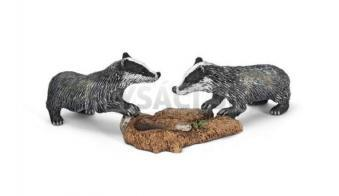 Schleich - Mláďatá jazveca