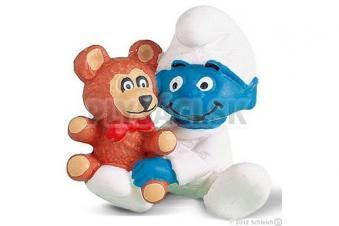 Schleich - Šmoliatko s medvedíkom