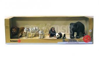 Schleich - Nature set - 6 divokých zvierat