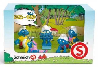 Schleich - Šmolkovia - 1990-1999 (set 5 Šmolkov)