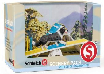 Schleich - Psie preliezačky a pes