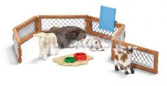Schleich - Malá ZOO s mláďatami