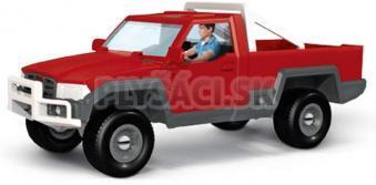 Schleich - Terénny pick-up s vodičom