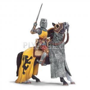 Schleich - Rytier na koni s mečom