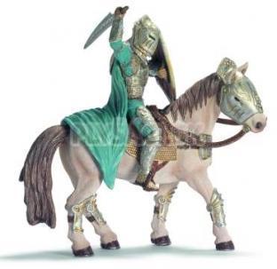 Schleich - Rytier Xarok na bielom koni