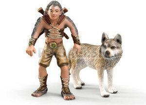 Schleich - Gregis s vlkom