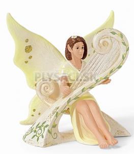 Schleich - Elfia víla hrajúca na harfu