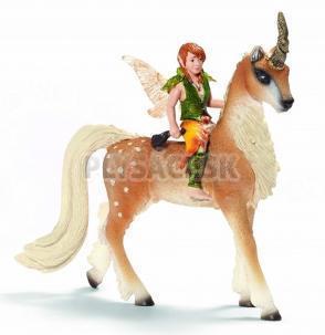 Schleich - Elfský chlapec na lesnom jednorožcovi