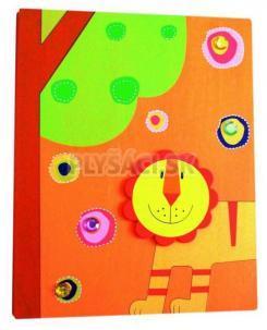 """Woody - Fotoalbum Oranžový """"Lev"""" 10x15 cm"""